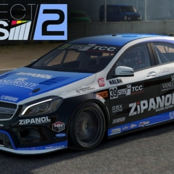 Project CARS 2 - Mercedes AMG A45 Touring at Laguna Seca (WIP) (PT-BR)