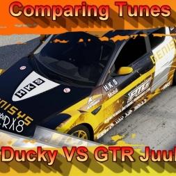 Comparing Tunes - Mazda RX8 - PTG Ducky VS GTR Juular DT