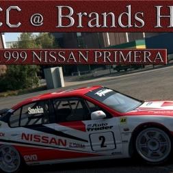 Assetto Corsa BTCC Nissan Primera 1999 Brands Hatch