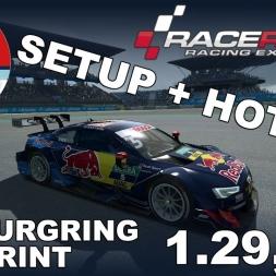 RaceRoom Racing Experience | DTM 2016 | Nürburgring Sprint | Hotlap + Setup | 1.20,922