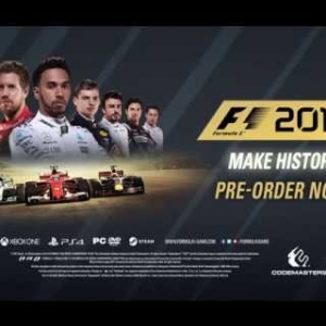 F1 2017 - CAREER TRAILER - Make History - HD