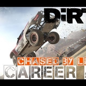 THE LIONS ARE HUNTING ME! - DIRT 4 CAREER PT 4 + WHEEL CAM!