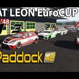 ASSETTO CORSA : Seat Leon Cup : CIRCUIT PADDOCK 42