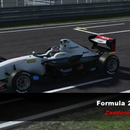rFactor2 - DX11 - Formula 2 2012 @ Zandvoort 2017 - VR(DK2)