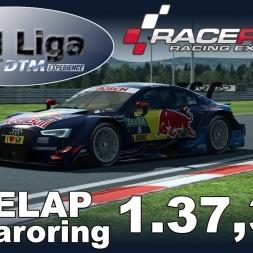 RaceRoom Racing Experience | VTM Liga | DTM 2016 | Polelap Hungaroring + Setup | 1.37,335