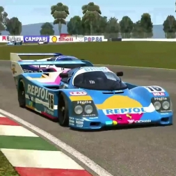 AC • Porsche 962c Short Tail @ Mexico´88 | Hermanos Rodriguez | E3