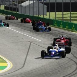 90's F1 cars at Australian GP | Assetto Corsa