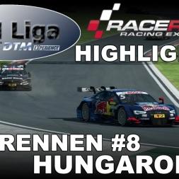RaceRoom Racing Experience | VTM Liga | DTM 2016 | Testrennen #8| Hungaroring | Highlights