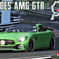 Mercedes AMG GTR at The Ring - Assetto Corsa (Mod Download)