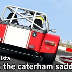Automobilista online: A great race.. (Caterhams @ Snetterton)