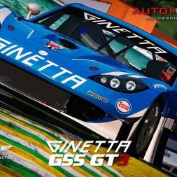 Automobilista - MOD - EEC Ginetta G55 GT3 @ Interlagos - PC 60FPS