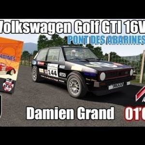 ASSETTO CORSA : Volkswagen Golf GTI 16V : Pont des Abarines