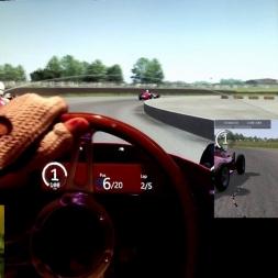 AC - Silverstone 1967 - Maserati 250F 6cyl - 100% AI race
