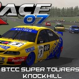 RACE 07 MODS - BTCC Super Touring Cars - Renault Laguna - Knockhill +  Download LINKS
