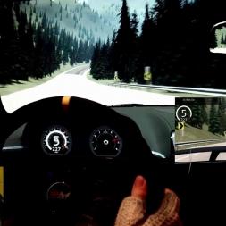 AC - Lake Louise 50km - Jaguar XKR-S - Track day