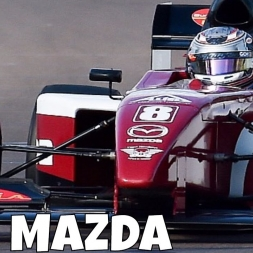 iRacing Pro Mazda at Spa - Too much downforce