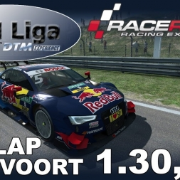 RaceRoom Racing Experience | VTM Liga | DTM 2016 | Hotlap Zandvoort + Setup | 1.30,325