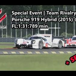 Assetto Corsa | Special Event Team Rivalry | Porsche 919 Hybrid (2015) @ Monza FL: 1:31:789 min