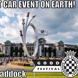 2017 Goodwood Festival of Speed - Part 1 - Paddock