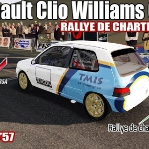 ASSETTO CORSA : Renault Clio Williams Gr.A : RALLYE DE CHARTREUSE