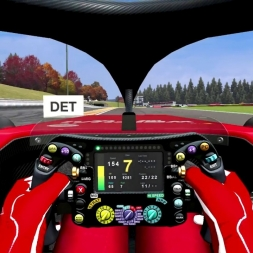 F1 Halo Onboard View - Drivers Eye at Spa - Is Visibility a Problem? - Automobilista