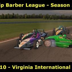 iRacing - Skip Barber UK and I League @ Virginia International Raceway