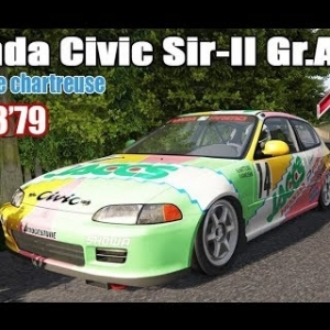 ASSETTO CORSA : Honda Civic Sir-II Gr.A : RALLYE DE CHARTREUSE
