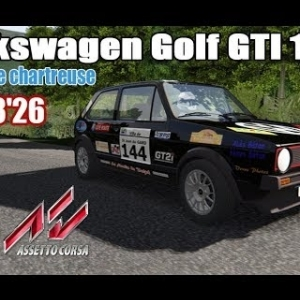 ASSETTO CORSA : Volkswagen Golf GTI 16V : RALLYE DE CHARTREUSE