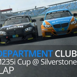 RaceDepartment R3E Club - BMW M235i Cup @ Silverstone - Race 2 Last Lap