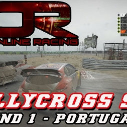 I'M WINNING?!? - AOR RALLYCROSS -  SEASON 2 - ROUND 1 - Portugal