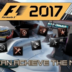F1 2017 Achievement List and Talk Through! The final hype before RELEASE!