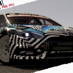 ASSETTO CORSA Ford Focus RS RX [HOONIGAN] by ZORROGSI