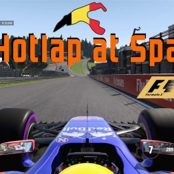 Hotlap around Spa in the Toro Rosso (Commentary) | F1 2017