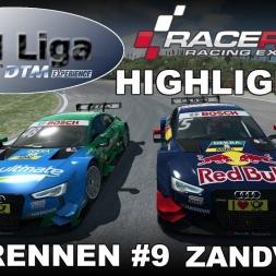 RaceRoom Racing Experience | VTM Liga | DTM 2016 | Testrennen #9 | Zandvoort | Highlights