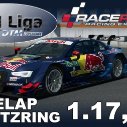 RaceRoom Racing Experience | VTM Liga | DTM 2016 | Hotlap Lausitzring | 1.17,571
