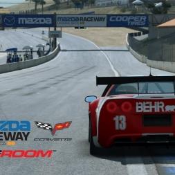 RaceRoom Racing Experience - Chevrolet Corvette Z06.R GT3 @Laguna Seca Mazda Raceway