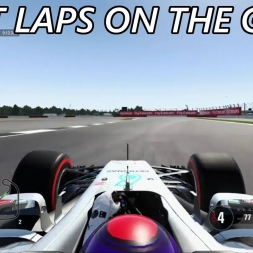 F1 2017 - First Laps On The Game - Time Trial, Silverstone