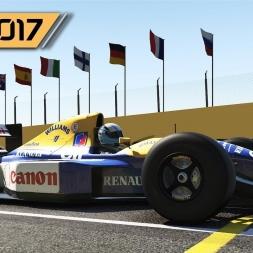 F1 2017 PC - Williams FW14B 1992 at Interlagos (PT-BR)