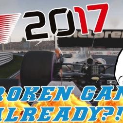 F1 2017 - ONLINE LOBBIES - BROKEN GAME ALREADY