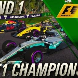 F1 2017 Championship Mode | FIA F1 Championship Round 1