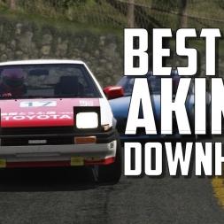 Akina Downhill touge battle compilation ⭐ Eurobeat ⭐  - [Assetto Corsa oculus Rift Gameplay]