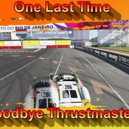 One Last Time - Goodbye Thrustmaster (4K)