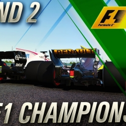 F1 2017 Championship Mode | FIA F1 Championship Round 2
