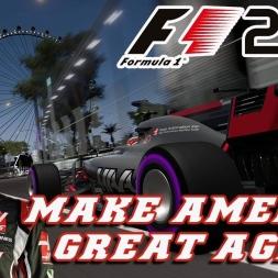 MAKE AMERICA GREAT AGAIN - HAAS CAREER PT 1  - F1 2017