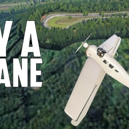 FLY A PLANE in Assetto Corsa - Nurburgring sightseeing [Oculus Rift Gameplay]