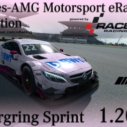 RaceRoom | Mercedes eRacing Competition | Round 7 | Nürburgring Sprint | 1.20,627