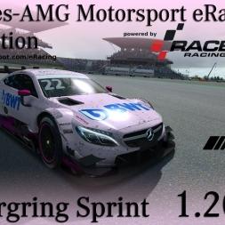 RaceRoom | Mercedes eRacing Competition | Round 7 | Nürburgring Sprint | 1.20,627