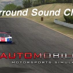 Automobilista Beta (1.4.62b) - Surround Sound Check