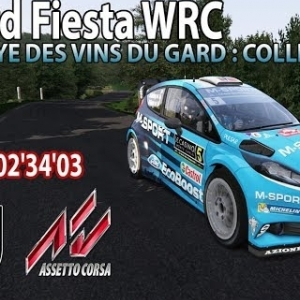 ASSETTO CORSA : Ford Fiesta WRC : Rallye des Vins du Gard : Collias