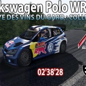 ASSETTO CORSA : VW Polo WRC : Rallye des Vins du Gard : Collias